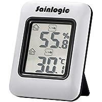 sainlogic Hygrometer Digital, Thermometer Humidity Monitor Indoor with Temperature Humidity Gauge