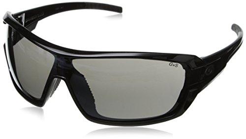 Gargoyles Men's Shield 10700126.QTM Wrap Sunglasses,Black,128 mm (Gargoyle Shield)