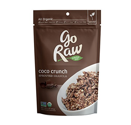 Go Raw Organic Superfood Sprouted Granola, Coco Crunch (pack of 2 16-ounce (Nut Free Granola)