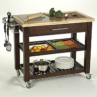 Chris & Chris Jet1224 Pro Chef Kitchen Cart