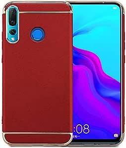 Huawei nova 4 Red Hard PC Case Cover