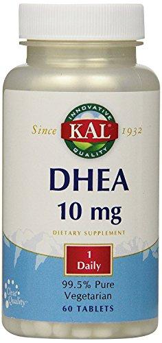 Comprimés de DHEA KAL-10, 10mg, 60 comte