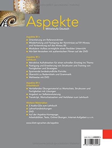 Aspekte: Arbeitsbuch 1 (German Edition): 9783126060028: Amazon.com ...