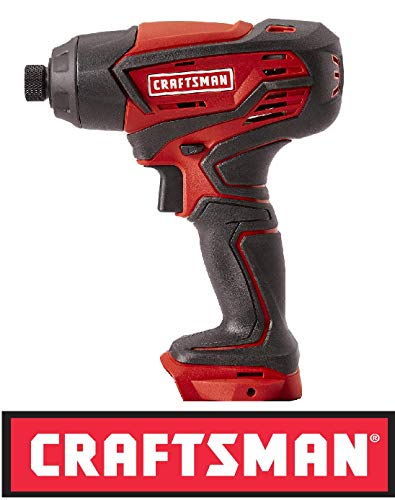 Craftsman 20 Volt Max Cordless Impact Driver 125.ID20A Bare