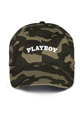 Playboy Letters Dad Hat Baseball Cap Unstructured New - (Playboy Womens Cap)