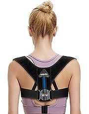 Upgraded Back Posture Corrector Women & Men, APPOLIS Adjustable Gear Design Back Straightener, Breathable Clavicle Support, Providing Pain Relief From Neck, Back and Shoulder