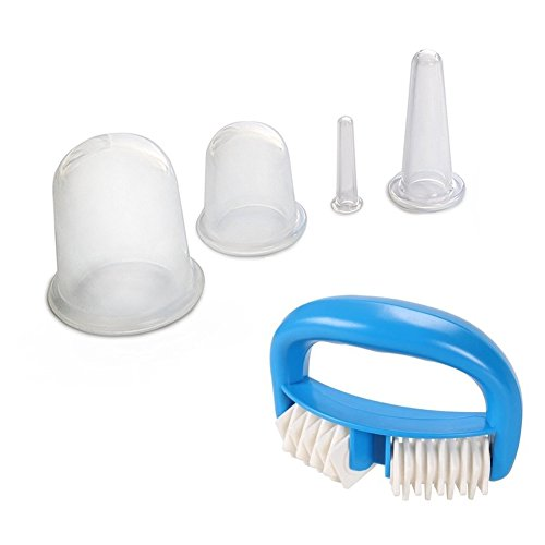 Silicone Cupping Therapy Set Anti Cellulite Cup And