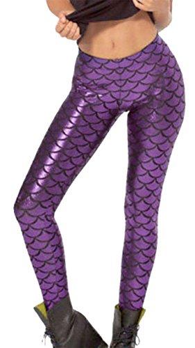 Fashions Islander Fashions Leggings Leggings Donna Viola Islander tw1qnxaOWf