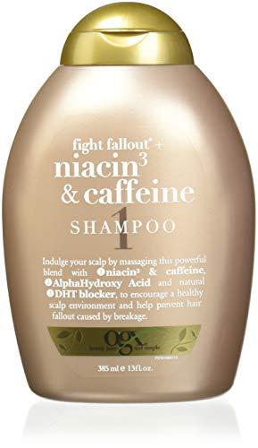 Ogx Shampoo Niacin 3 & Caffeine 13oz (3 (Best Ogx Dht Blockers)