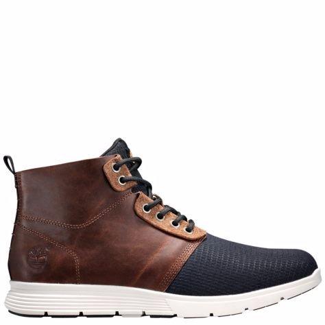 Timberland Mens Killington Leather Chukka Hiker Boots, Brown, 8.5 D(M) US