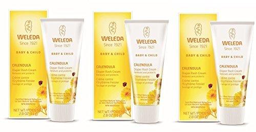 Weleda Calendula Diaper Care, 2.8-Ounce (3 pck)