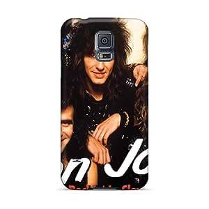 Samsung Galaxy S5 AqU12109Piko Special Colorful Design Bon Jovi Skin Shock Absorption Cell-phone Hard Cover -JamesKrisky