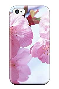 Hot Style JCquWCY7061swFKR Protective Case Cover For Iphone4/4s(pink Spring Flowers)