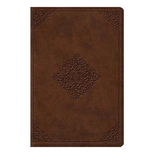 ESV Study Bible, Personal Size (TruTone, Saddle, Ornament Design) (2014,...