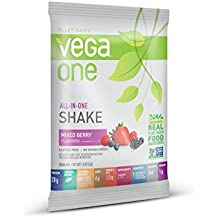 SAMPLE SIZE Vega One All in One Nutritional Shake, Mixed Berry,1.5 Ounce