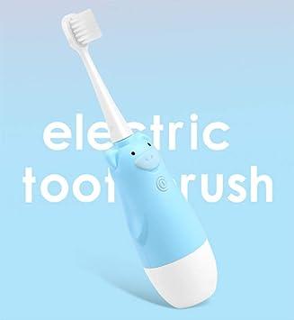 Cepillo de dientes eléctrico para niños azul cabeza pequeña cepillo ...