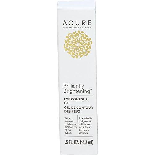 Acure Brilliantly Brightening Eye Contour Gel, 0.5 Fl. Oz. (Packaging May Vary)
