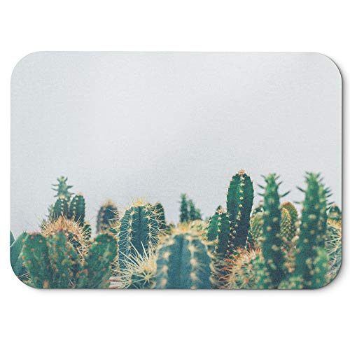 Price comparison product image Westlake Art - Plant Cactus - Mouse Pad - Non-Slip Rubber Picture Photography Home Office Computer Laptop PC Mac - 8x9 inch (D41D8)