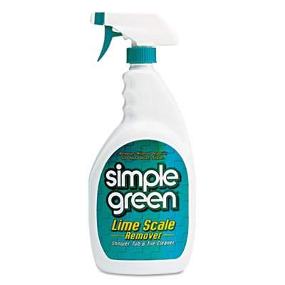 Simple Green 50032 Lime Scale Remover, Wintergreen, 32 oz Bottle (Case of ()