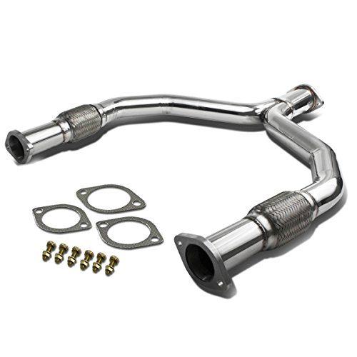 DNA Motoring YP-370Z-G37 Stainless Steel Y-Pipe Downpipe Exhaust