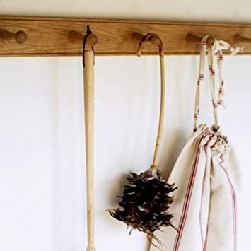 Solid Oak Shaker Peg Rail