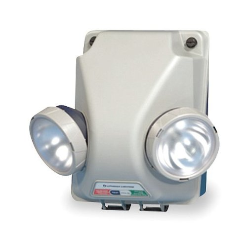 ACUITY LITHONIA IND INDURA 1254 2 Krypton Lamps, Emergency Light, Grey by ACUITY LITHONIA