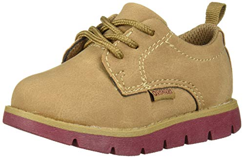 OshKosh B'Gosh Boys' Kabir Oxford, tan, 8 M US Toddler (Toddler Shoes Oshkosh Boys)