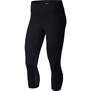 5942e35633b51 Nike Women's Power Pocket Lux Crop Tights - AA1228-010 - Black - Size Small