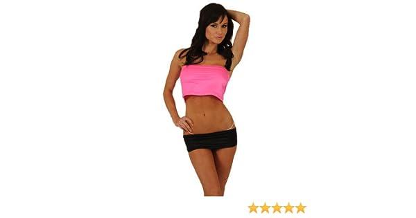 e8e0af30595 Amazon.com  Hot Line Sexy Pole Dancer Short 4 Inch Mini Skirt - SMALL MEDIUM   Adult Exotic Apparel  Clothing