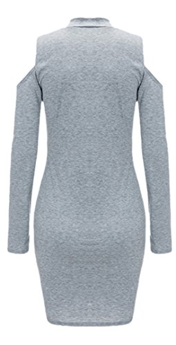 erdbeerloft - Vestido - para mujer gris