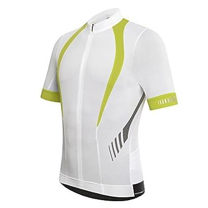 zero rh + Stealth Jersey ciclismo da uomo, BiaVerdFol zerorh+