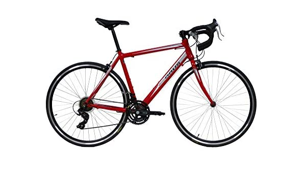 Bicicleta de carreras Orus de aluminio de 28 pulgadas, tamaño del marco 51 cm, Shimano TY3000: Amazon.es: Deportes y aire libre