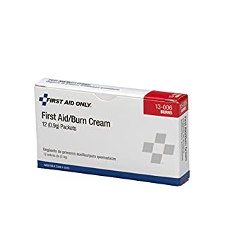 First Aid Only 13-006 First Aid/Burn Cream Packet (Box of 12)