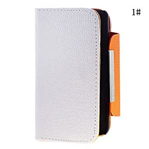 LZX Classic Solid Color PU Leather Full Body Case for Samsung i9100(Assorted Color) , 1