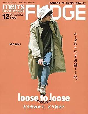 men's FUDGE - メンズ ファッジ - 2020年 12月号 Vol.127