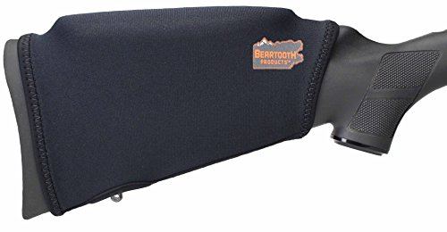 Cheek Rest - Beartooth Comb Raising Kit 2.0 - Premium Neoprene Gun Stock Cover + (5) Hi-density Foam Inserts - NO LOOPS MODEL (Black)