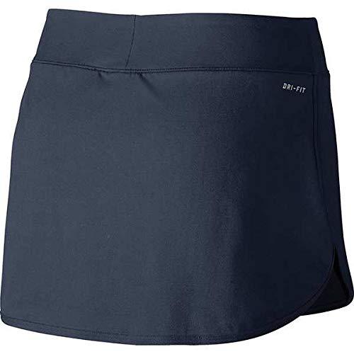 Nike Women's Pure 12'' Tennis Skirt (Thunder/Blue, Small)