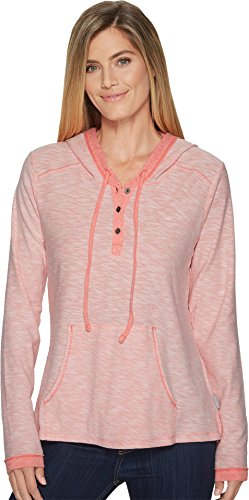 Columbia Drawstring Sweatshirt - Columbia Women's Easygoing Hoodie Blush Pink Small