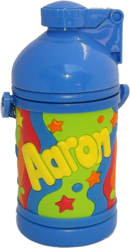 Aaron Drink Bottle by John Hinde Personalized My Drink Mugs