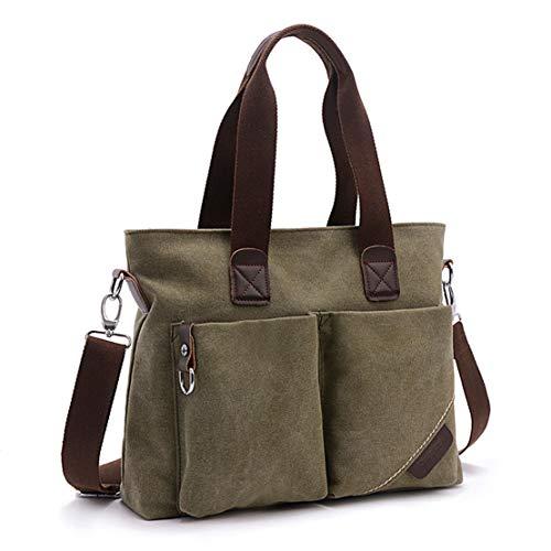 Army Bag Top ToLFE Green Tote Handbags Handle Purse Women Shoulder Satchel RxwU7Zgq