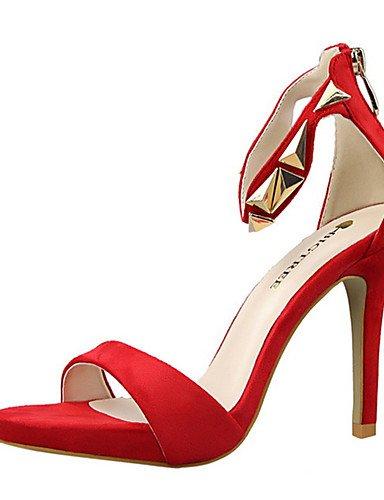 5 cn34 eu35 Tac¨®n Tacones Zapatos us5 uk3 cn34 eu38 Tacones ZQ Stiletto de golden Rojo mujer Gris us5 eu35 us7 Rosa golden uk5 Plata Casual uk3 5 Negro cn38 golden PU Oro TwqdxSA