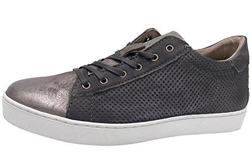 Mjus Dames Sneaker Schoenen Grijs Metallic 265123-1009-6488