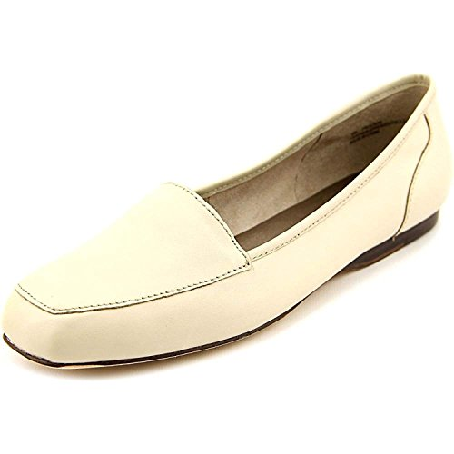 ARRAY Womens Freedom Leather Square Toe Loafers, Bone, Size 7.0