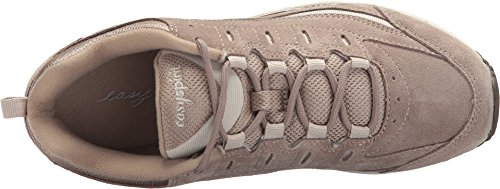 Image of Easy Spirit Women's Romy Walking Shoe, Medium Taupe Multi Suede, 5 M US