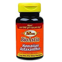 Nutrex Hawaii Bioastin Hawaiin Astaxanthin – 12mg, 50 Gel Caps (pack of 4)