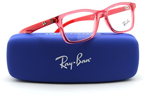 Ray-Ban RY1562 JUNIOR Rectangular Prescription Eyeglasses RX - able 3687, - Ban Ray Red Eyeglass Frames