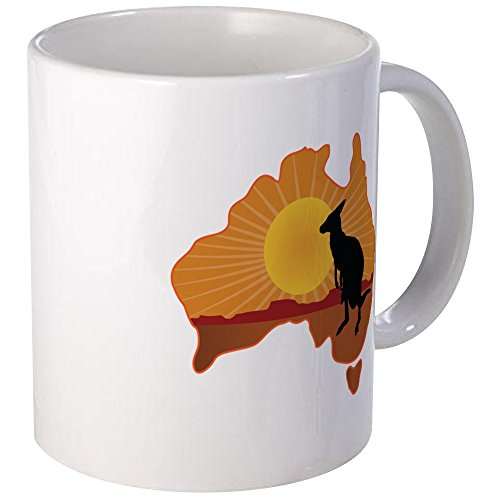 CafePress - Australia Kangaroo - Unique Coffee Mug, Coffee C