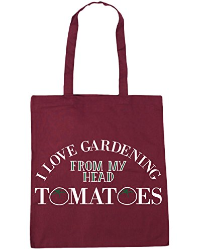 My Beach Head 42cm Shopping Bag Love Burgundy HippoWarehouse I 10 Tote Gardening Tomatoes From litres Gym x38cm qAIvpFw