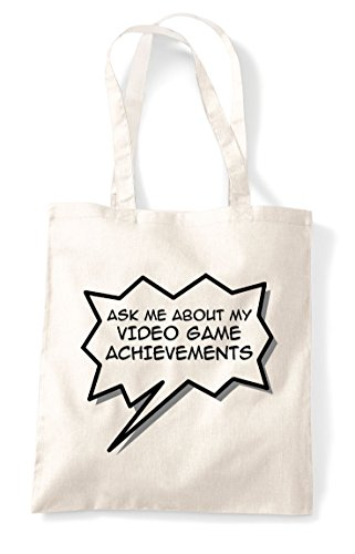 Bag Me Gaming Shopper Natural Game Ask Achievements Statement About My Video Tote gw4v6qzd