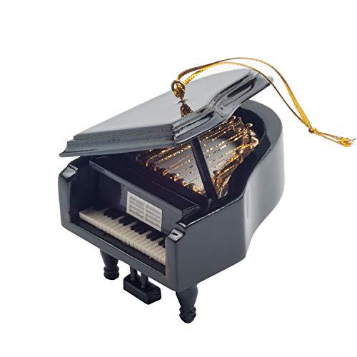 (Noland Grand Piano Musical Box, Musical Instrument Ornament, Wooden Music Box, Happy Birthday Tune)